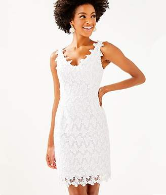 b2f537785ca Lilly Pulitzer White Lace Dress - ShopStyle