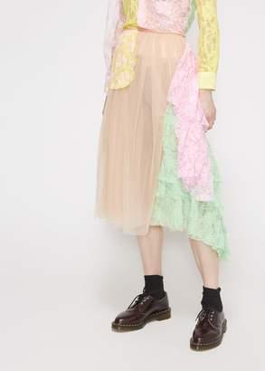 Comme des Garcons Tricot Ruffle Skirt