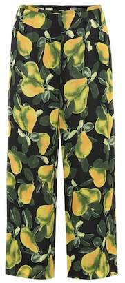 Marc Jacobs Pear cropped crêpe pants