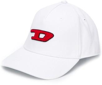 Diesel 3D logo patch baseball cap