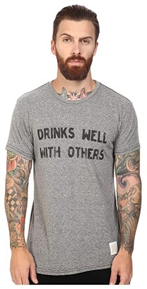 Original Retro Brand The Drinks Well With Other Short Sleeve Tri-Blend Tee