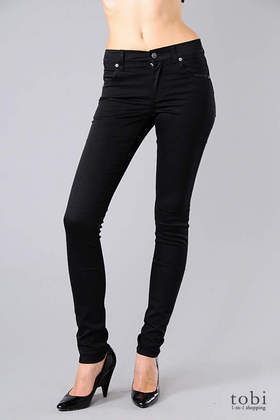Cheap Monday Tight Skinny Jeans in Very Stretch Black