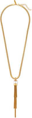 Rachel Zoe Gwen Sphere Pendant Tassel Necklace
