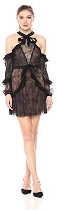 For Love & Lemons Women's Margot Off Shoulder Mini Dress