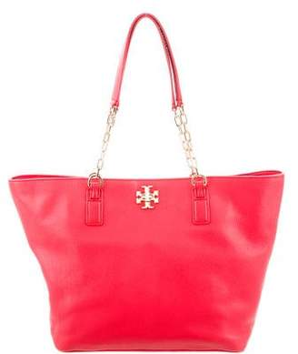 Tory Burch Leather Mercer Tote