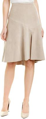 Halston A-Line Skirt
