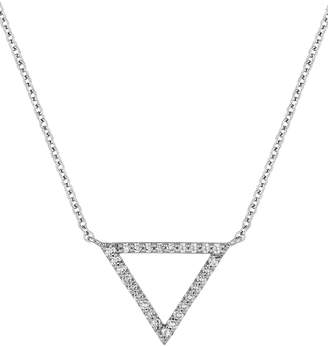 Carriere JEWELRY Medium Triangle Diamond Pendant Necklace
