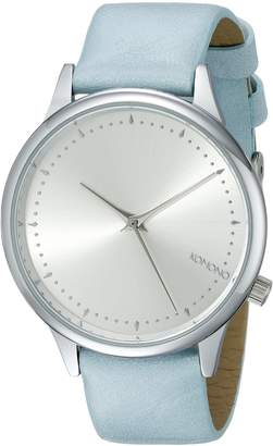 Komono Women's KOM-W2501 Estelle Pastel Series Analog Display Japanese Quartz Blue Watch