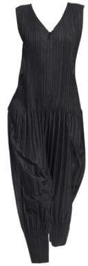 Pleats Please Issey Miyake Sleeveless Pleated Jumpsuit