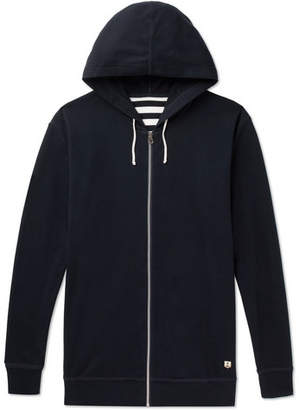 Armor Lux Striped Cotton-Jersey Hoodie