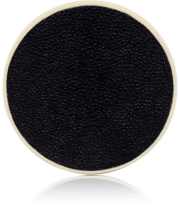 Shagreen-Covered Wood Coaster