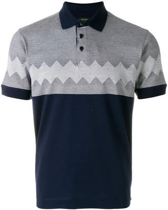 Z Zegna short sleeved polo shirt