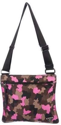 1f3370293e08 Prada Nylon Camouflage Crossbody Bag