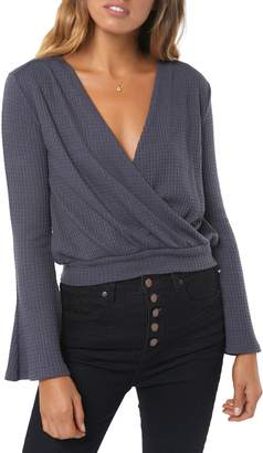 O'Neill Cayenne Knit Wrap Top
