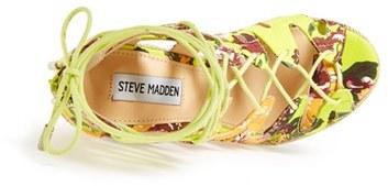 Steve Madden 'Theea' Caged Wedge Sandal (Women) 4