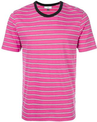 Ami Alexandre Mattiussi Striped Short Sleeves T-shirt