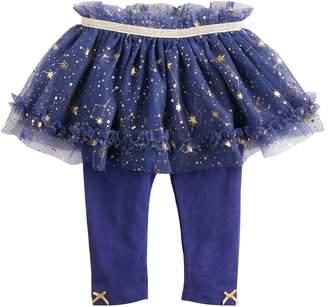 Baby Starters Baby Girl Foiled Constellation Tutu Leggings