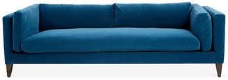 Robin Bruce Hyde Tuxedo Sofa - Navy Crypton