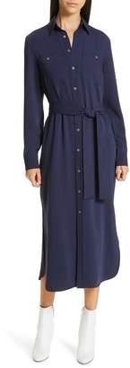 Polo Ralph Lauren Belted Midi Shirtdress