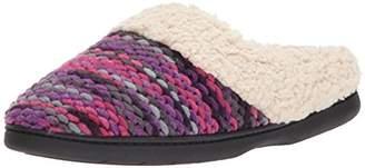 Dearfoams Women's Textured Sweater Knit Clog