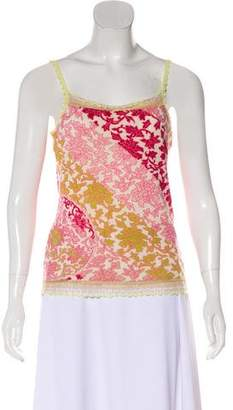 Christian Lacroix Sleeveless Cashmere Top