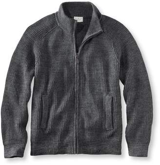 L.L. Bean L.L.Bean Blue Jean Sweater, Full Zip