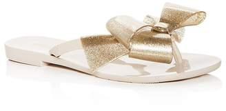 Melissa Women's Harmonic Bow III Glitter Flip-Flops