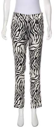 Thomas Wylde Printed Silk Pants