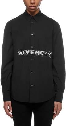 Givenchy Logo Print Shirt
