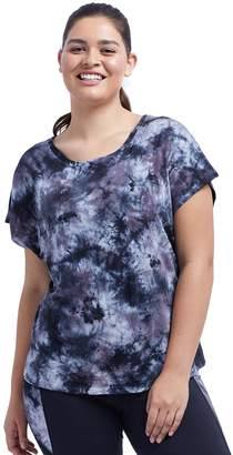 Plus Size Balance Collection Amber Tie-Dye Tee