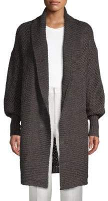 Honeycomb Knit Duster Cardigan