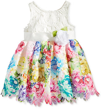 Nanette Lepore Floral Lace Dress, Baby Girls (0-24 months) $70 thestylecure.com