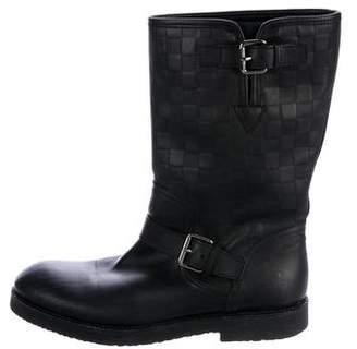 Louis Vuitton Backfire Damier Boots
