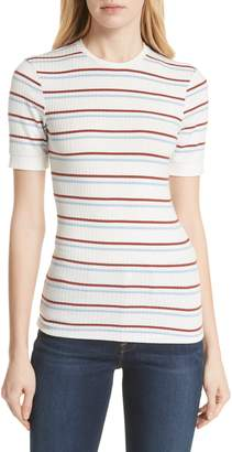 Frame '70s Stripe Fitted Tee
