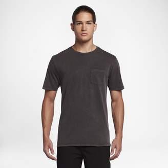 Hurley Staple Pocket Acid Wash Men's T-Shirt