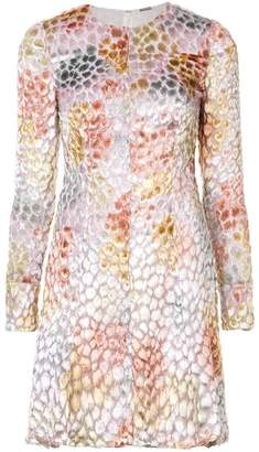 ADAM by Adam Lippes painted textured mini dress