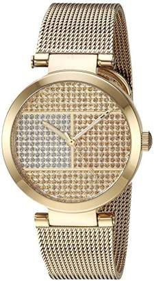Tommy Hilfiger Women's Quartz Tone and Gold Plated Casual Watch(Model: 1781867)