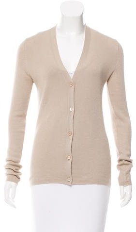 prada Prada Cashmere Button-Up Cardigan