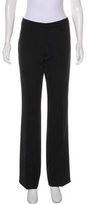 Milly High-Rise Straight-Leg Pants w/ Tags Recommend Discount Nat8vz