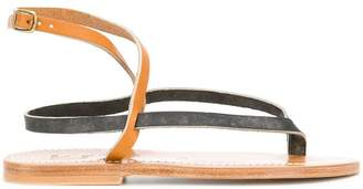 K. Jacques bicolour sandals