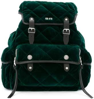Sonia Rykiel Le Oyster quilted backpack