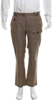 John Varvatos Virgin Wool Cropped Pants