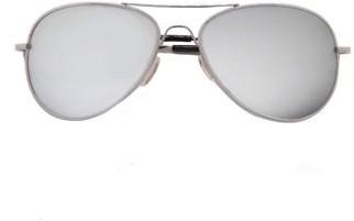 Pop Fashionwear Inc Classic Aviator Color Lens Sunglasses Small Size Spring Hinge Temple 2480