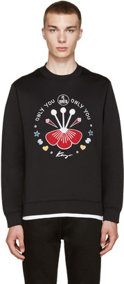 Kenzo Black Only You Pullover $270 thestylecure.com