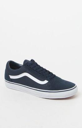 Vans Women's Old Skool Suede/Canvas Sneakers $60 thestylecure.com