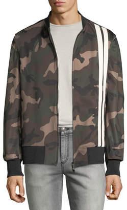 Valentino Men's Army Camo Track Jacket