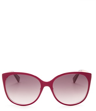 MARC JACOBS Classic Cat Eye Sunglasses, 55mm $145 thestylecure.com