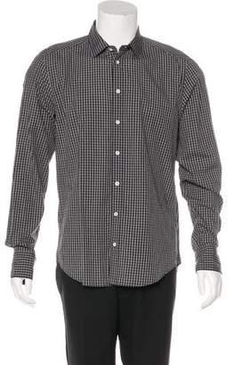 Rag & Bone Woven Gingham Shirt w/ Tags