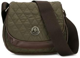 Moncler quilted cross-body satchel