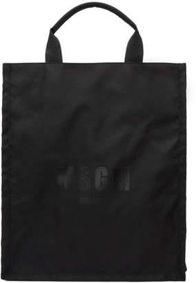 MSGM Black Logo Tote